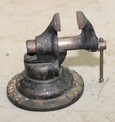 Rare Antique Phoenix Homer Ny Vise And Stand Salesmans Sample Pat Applied For Tool