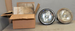 2 Antique Head Lamp Light 11 Diameter Truck Automobile Model T Ford Collectible