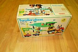 1974 Playskool Holiday Inn Familiar Places 480 Playset In Factory Sealed Box