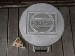Very Rare Vintage Pepsi Cola Bbq Grill 1970's Cast Aluminum Made In Usa Jp
