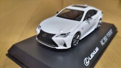 Lexus Special Order Genuine Rc350 Sport White 1/43 Out Of Print Sold