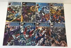 Transformers More Than Meets The Eye Official Guide 1 2 3 4 5 6 7 8 Full Set
