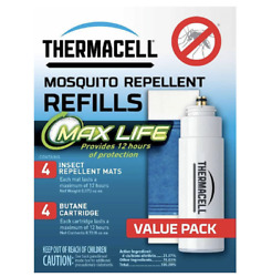 Thermacell Tcell Max Life Value Pack Refill L-4