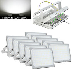 10x 500w Cool White Led Smd Flood Light Outdoor Landscape Garden Wall Lamp Ip65