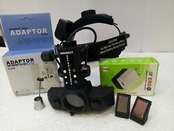 New Pack Of Six Cordless Binocular Indirect Ophthalmoscope With Accessories