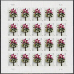 100pcs Stamps Usps Contemporary Boutonniere Forever Stamps 2020 Us Free Shipping