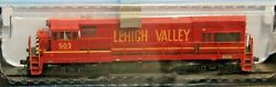 Ho Scale - Atlas Master Gold 10 003 445 Lehigh Valley U23b - Dcc And Sound