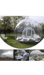 Hukoer Luxurious Outdoor Single Tunnel Inflatable Bubble Tent Family Camping Bac