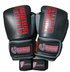 16oz Triumph United Gloves + Revgear Hand Wraps, Great Condition