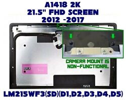 Oem Lcd Screen Display For Apple Imac A1418 Lm215wf3 2012-2014 21.5 2k Sd D1-d5