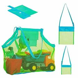 Mesh beach bag Extra Large Beach Bags and Totes 3 piece beach tote bags that $20.03