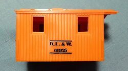 Lionel D.l.and W. 6119 25 Work Caboose Shell