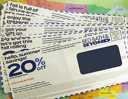 20 Bed Bath And Beyond 20 Off Single Item Coupons