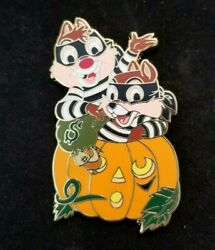 Disney Shopping - Chip And Dale Jack Oand039 Lantern Halloween Rare Pin Le 100 - 2008