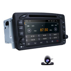 7 Android10 Car Dvd Gps Nav Stereo Radio Dsp For Mercedes-benz C-class W203 Rds