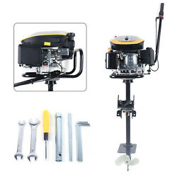 225cc 4 Stroke Outboard Motor Engine Inflatable Boat Single Cylinder Air Cooling
