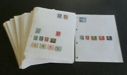 Germany Ddr Stamp Collection 1949 -1990 Over 180 Album Pages Mostly Fine Used.