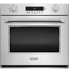 Monogram Zet1phss 30 Professional Electronic Convection Single Wall Oven