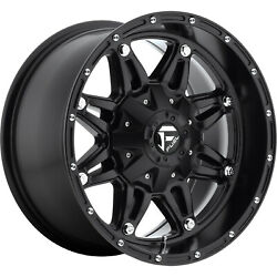 4- 17x9 Black Fuel Hostage 6x4.5 And 6x5.5 -12 Rims Discoverer Stt Pro 37 Tires
