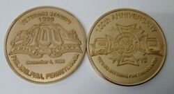 Vfw 100th Anniversary Challenge Coin 1999 Army Navy Game Philadelphia Mg