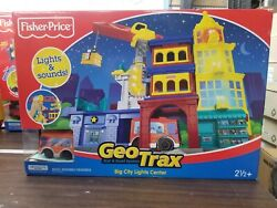 Fisher-price Geotrax Big City Lights And Sound Center New In Box - Unopened