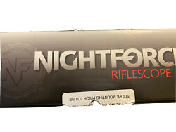 Nightforce Nx8 1-8x24mm Rifle Scope - C598 Comes With Fde Geisselle Mount