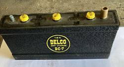 Delco Battery Dc-7 53-56 Cadillac 53 Oldsmobile 53-58 Buick 6 Volt