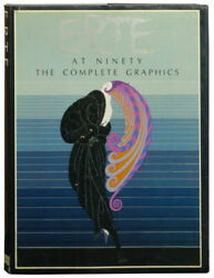 Erte At Ninety The Complete Graphics Erte Hardcover Collectible - Very Good
