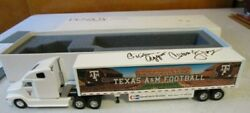 Penjoy Company Promotional/collectible Texas Aandm Football Signed Tractor Trailer