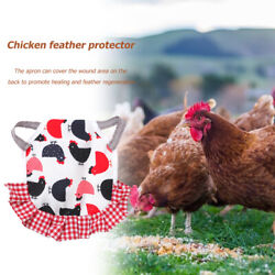 supplies Comfortable Chicken Saddles Pet Feather Protector Hens Clothes