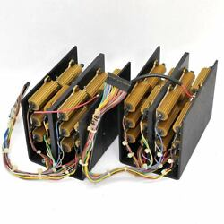 48 Dale Rh-50 Dummy Load Resistors Mounted With Individual Leads 10 Ohms/7 Ohms