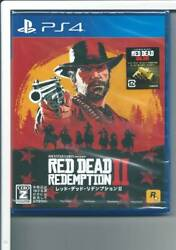 Red Dead Redemption 2 Ps4 From Japan