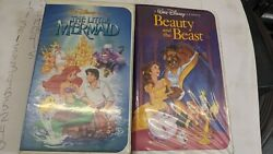 Disney The Little Mermaid And Beauty And The Beast Diamond Banned Editions Set