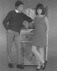 Ami Continental Couple Vintage 8x10 Reprint Of Old Photo