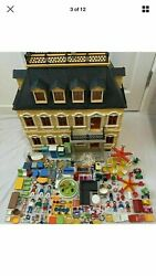 Playmobil Victorian Grand Mansion 5301 Kids Dolls House Playset Furnished Extras