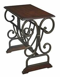 Braunsen Chair Side End Table Multi Scroll