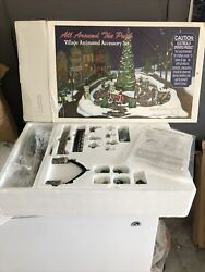 New Vintage Department 56 All Around The Park Village Animated 5247-7