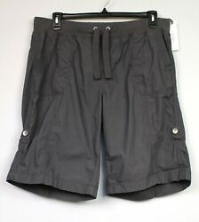 Calvin Klein Performance Woven Activewear Shorts Size 3x Charcoal Retail 59.50