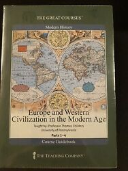 Great Courses Europe And Western Civilization In The Modern Age Dvd - Brand New