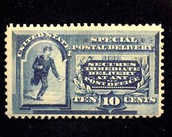 Hsandc Scott E2 10 Cent Special Delivery Regummed Appears Nh Mint F/vf Us Stamp