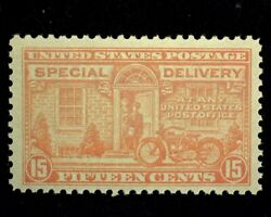Hsandc Scott E13 15 Cent Special Delivery Mint Vf Nh Us Stamp
