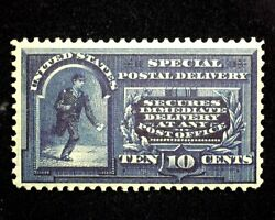 Hsandc Scott E5 10 Cent Special Delivery Deep Color. Mint Vf Lh Us Stamp