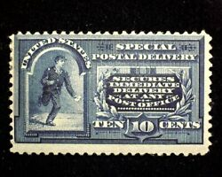 Hsandc Scott E4 10 Cent Special Delivery Mint F H Us Stamp