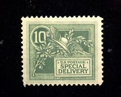 Hsandc Scott E7 10 Cent Special Delivery Mint F/vf H Us Stamp