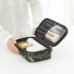 Professional Travel Makeup Organizer Bag Women Cosmetic Floral Storage Pouch $24.99