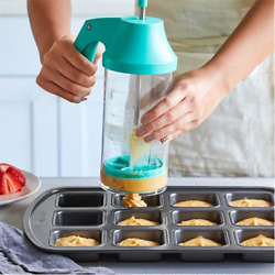Pampered Chef Batter Mixer And Dispenser Free Shipping