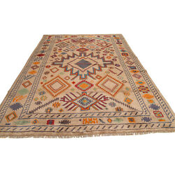 Authentic Traditional Afghan Carpet 304 X 208 Cm Large Oriental Area Rug -10888