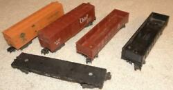 Vintage American Flyer Car Lot, 802, 803, 804, 805, 928, The Chief