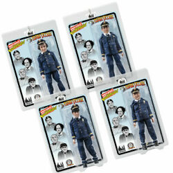 The Three Stooges 8 Inch Action Figures Dizzy Detectives Set Of All 4