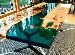 Acacia Resin Table Top Epoxy Coffee Table Epoxy Table Top Wooden Resin Table